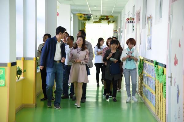 ——甘州区第二幼儿园迎接张掖市语言文字工作督导评估