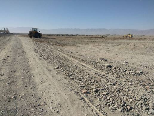 城防站组织开展砂石料场环境整治工作