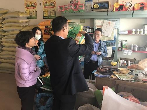 甘州区农业局强化源头狠抓整治保障农产品质量安全