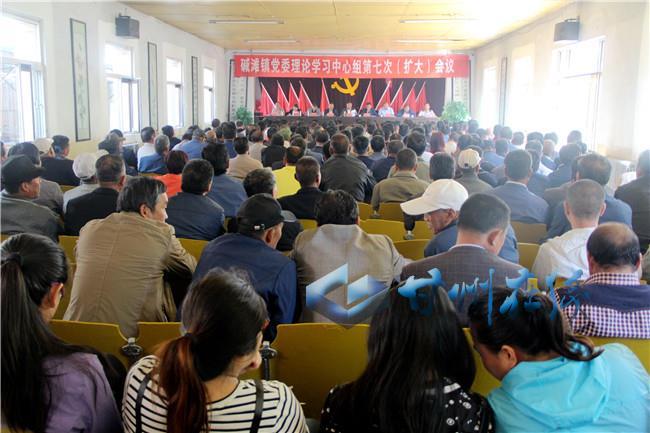 甘州碱滩镇认真传达学习甘肃省第十三次党代会精神