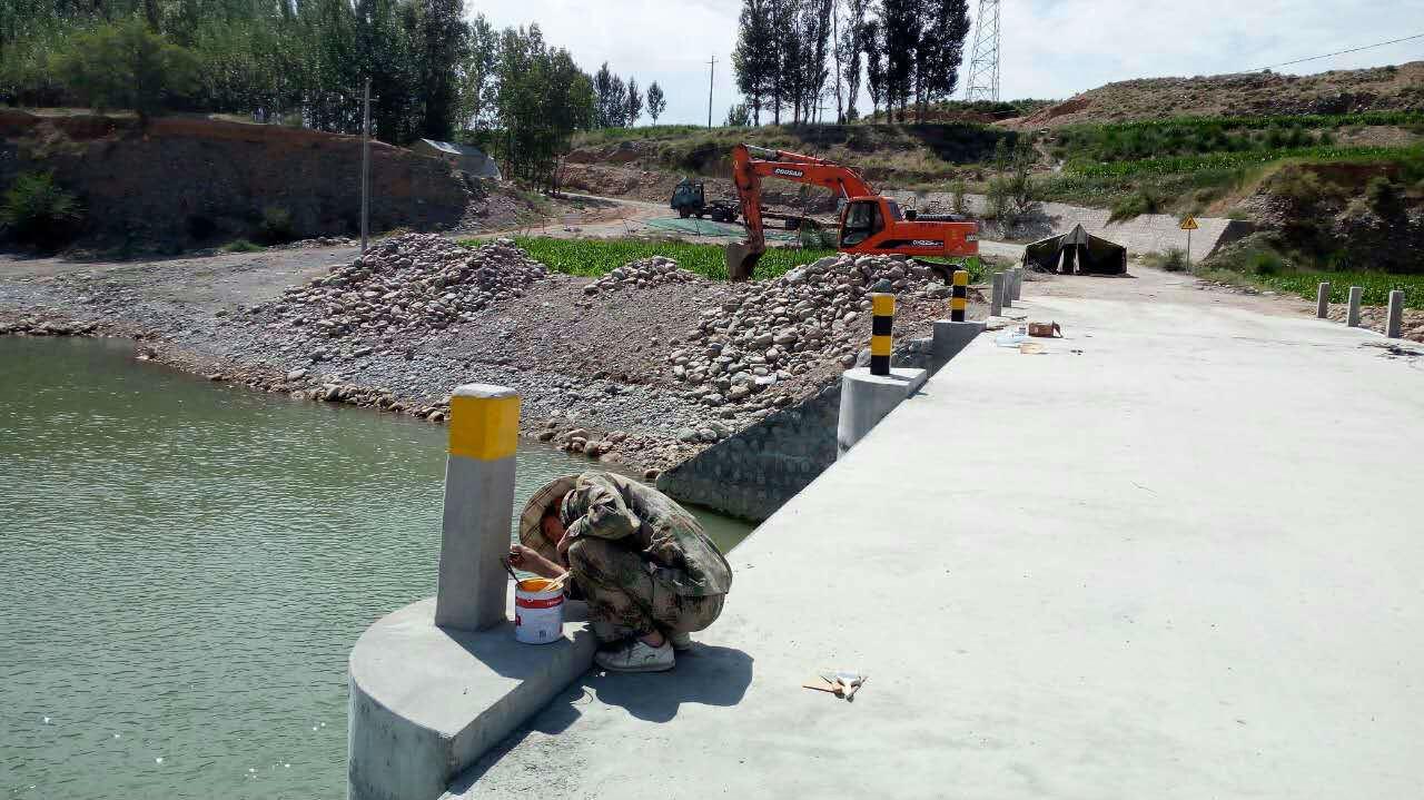 甘州区交通运输局强化农村公路附属设施和安全防护项目的精细化管理