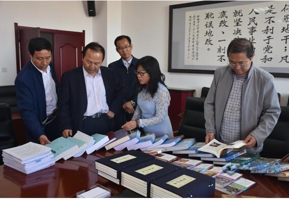 9月14日省史志办督查甘州区地方史志工作