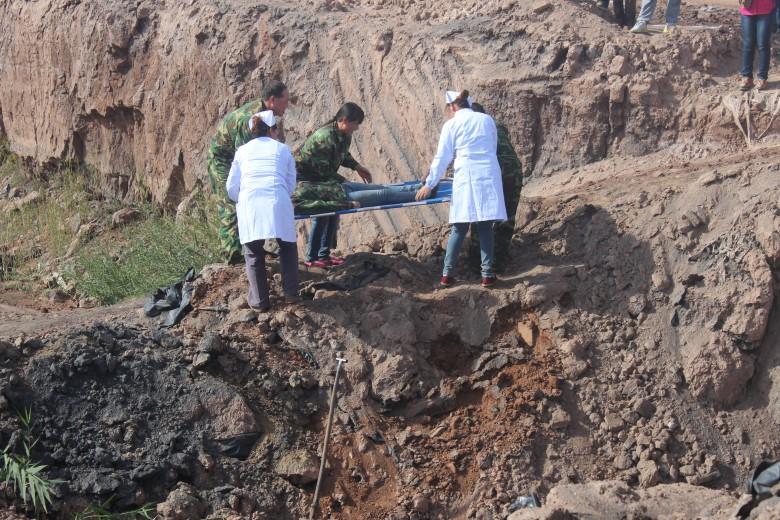 甘州区靖安乡举行甘州区突发性地质灾害应急演练