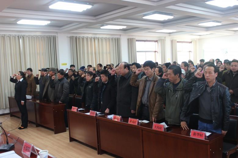 大满镇组织开展冬季党员轮训活动
