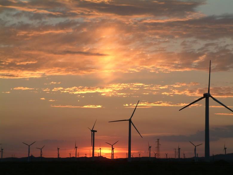平山湖风力发电