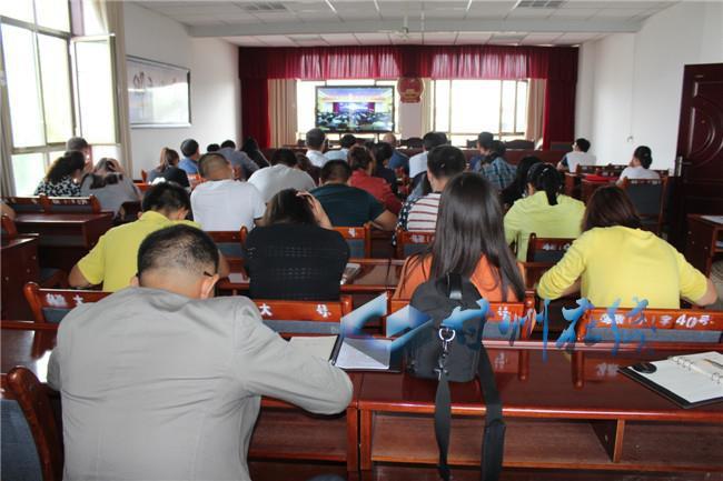 """甘州区乌江镇积极参与学习""""一带一路""""战略学术报告会"""
