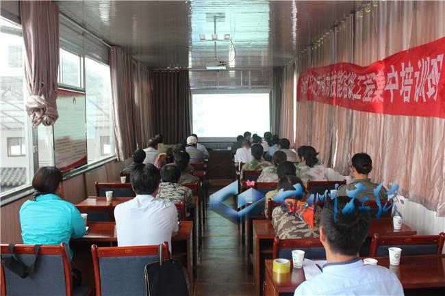 甘州区乌江镇举办高原夏菜种植技术培训班