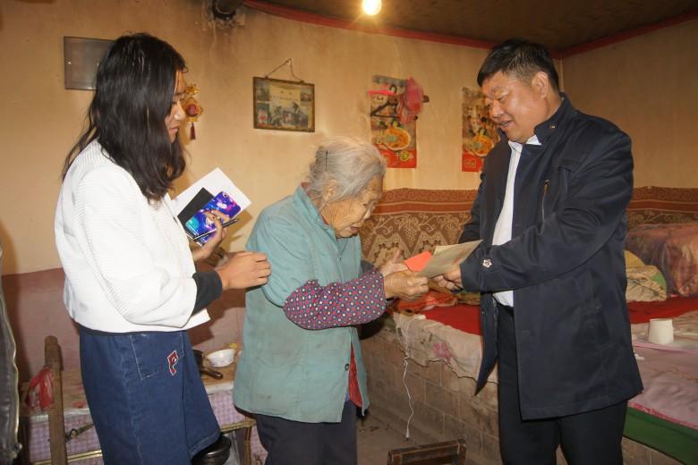 爱满重阳节 情暖老人心——甘州区沙井镇开展重阳节慰问活动
