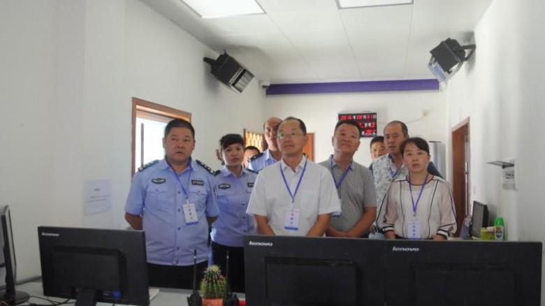 张兴峰副区长到看守所调研指导工作