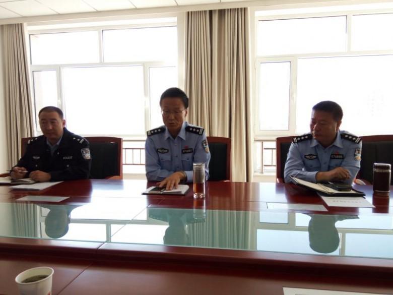 李海龙局长召开专题会议安排部署文博会安保暨近期信访维稳工作