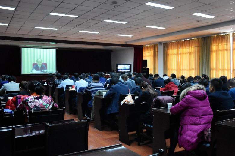 甘州区组织收听收看第三次全国农业普查电视电话会议