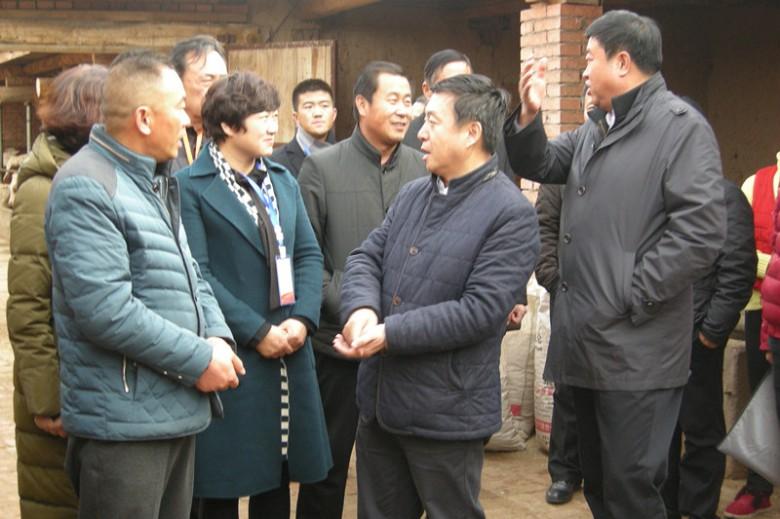 张掖市副市长王海峰到甘州区入户检查农业普查工作