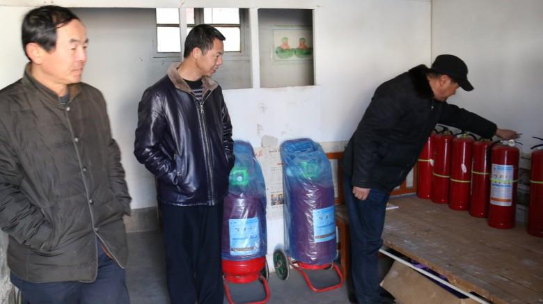 甘州区粮食局进行春节前安全生产检查