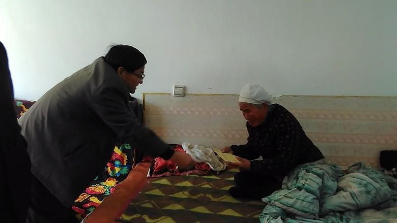 甘州区民族宗教局开展春节走访慰问活动