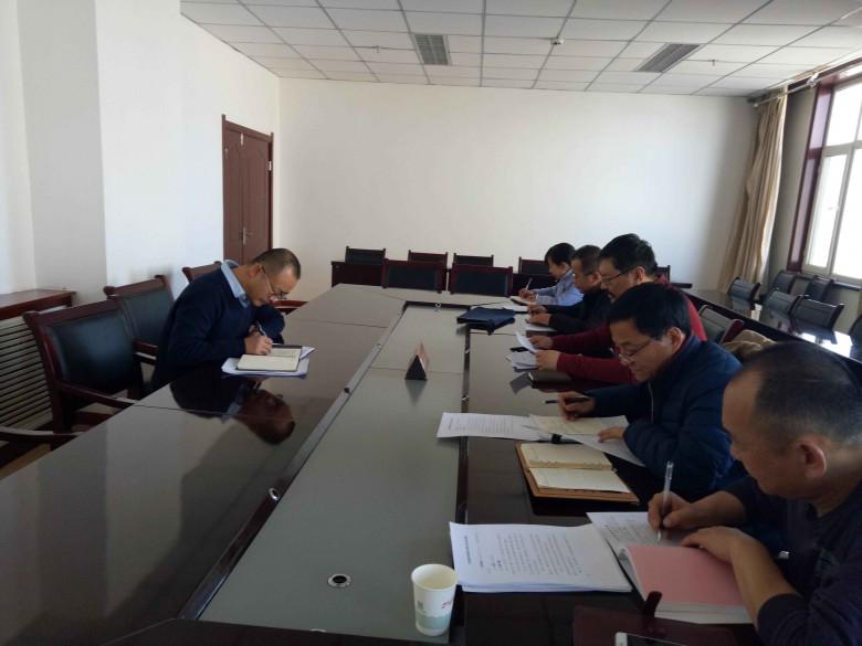 甘州区委常委、统战部长汪晓瑞出席指导区民族宗教局民主生活会