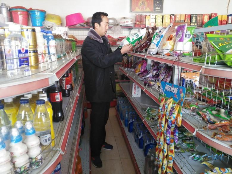 甘州区食品药品监督管理局三闸监管所开展春节前食品安全专项检查