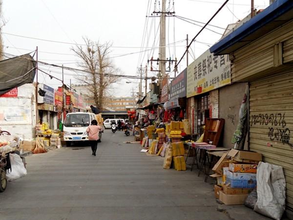 甘州区工商质监局城关工商所市场环境整治喜见成效