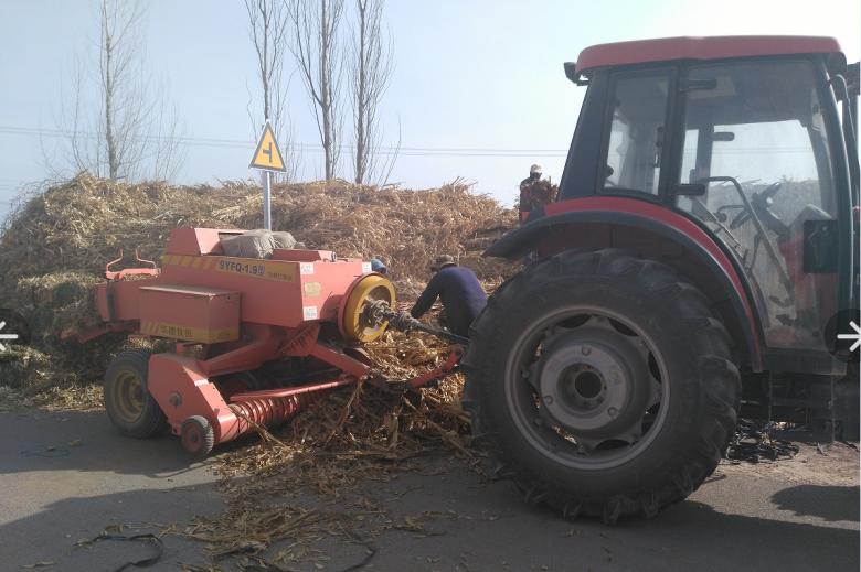 环境卫生整治,农机来帮忙