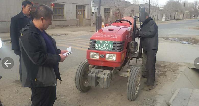 甘州区农机局早动手早安排抓好农机安全检验