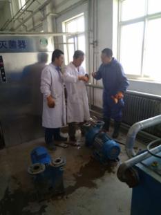 张掖市医废中心积极检修维护保养设备 消除安全隐患