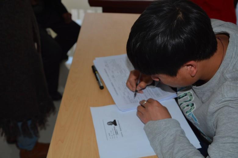 甘州区开展贫困残疾人听力障碍筛查活动