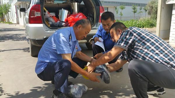 甘州区工商质监局开展煤炭抽检工作