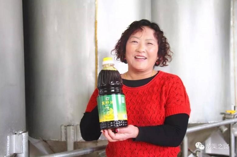 """龙渠乡:""""龙渠香坊""""胡麻油 生态健康传四方"""