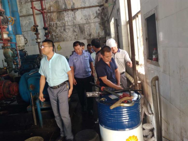 甘州区安监局联合多部门开展涉氨制冷 企业安全大检查