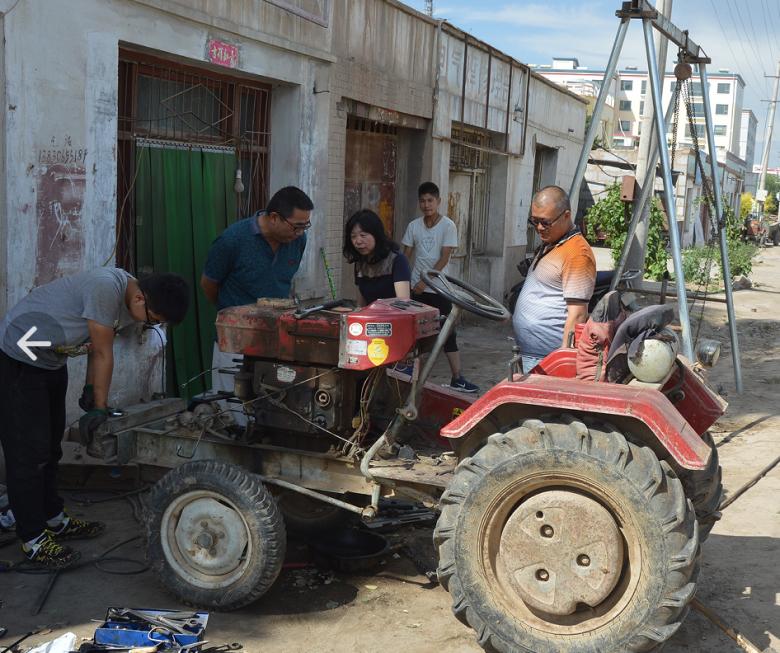 甘州区农机局开展农机维修网点安全大检查