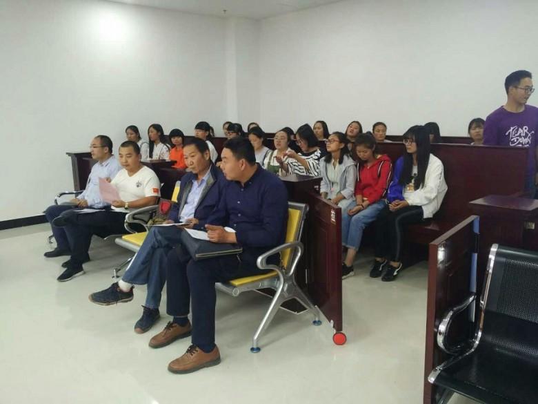 甘州区法律援助中心开展法律援助案件庭审观摩活动
