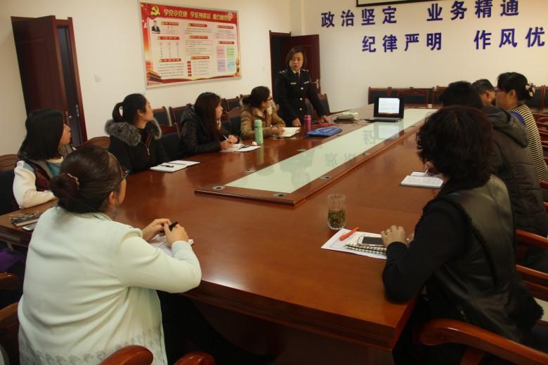 甘州区司法局举办消防安全知识讲座