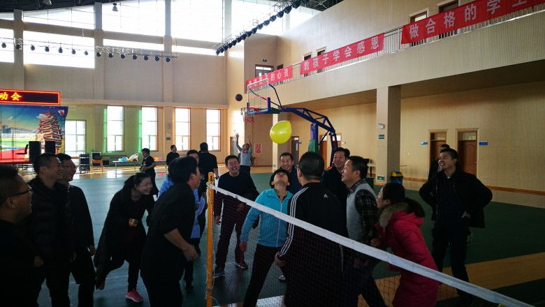 甘州区地震局积极参加2017年区发改系统职工 趣味运动会