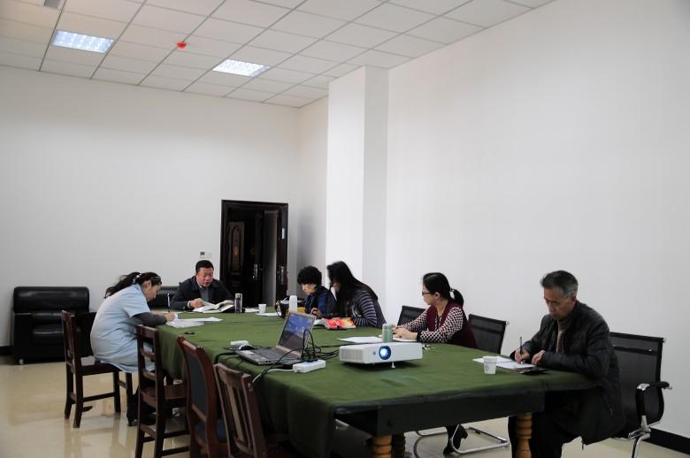 """甘州区档案局认真开展2018年首次""""固定党日""""活动"""