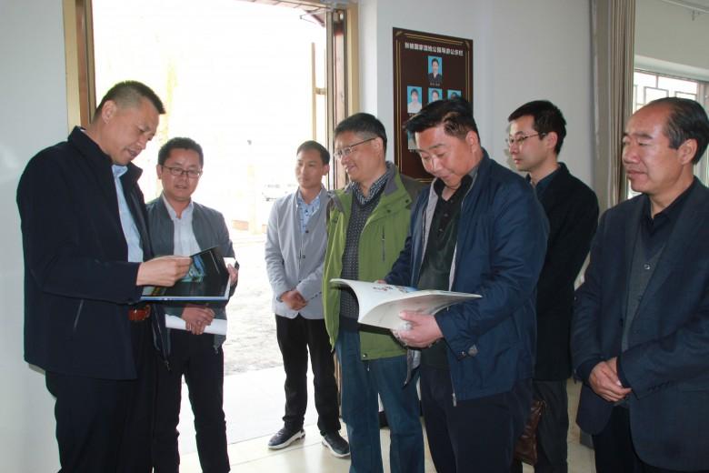 甘肃省湿地保护管理中心领导深入张掖国家湿地公园开展实地调研督导
