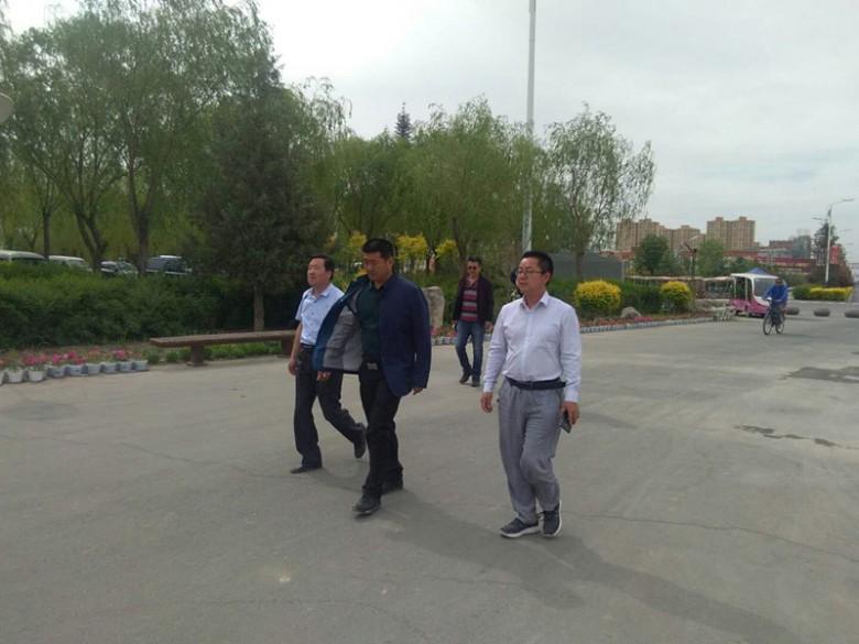 王斌副区长深入张掖国家湿地公园调研指导工程项目建设工作