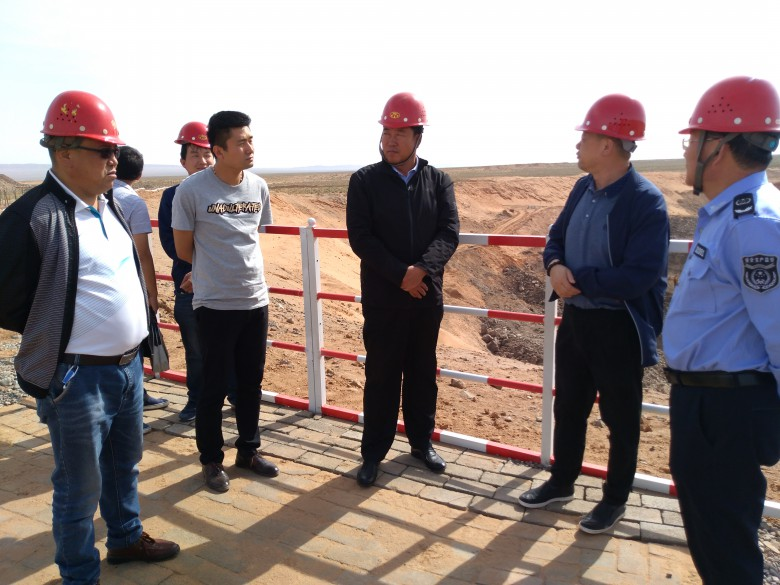 邢学伟带队检查非煤矿山领域安全生产工作