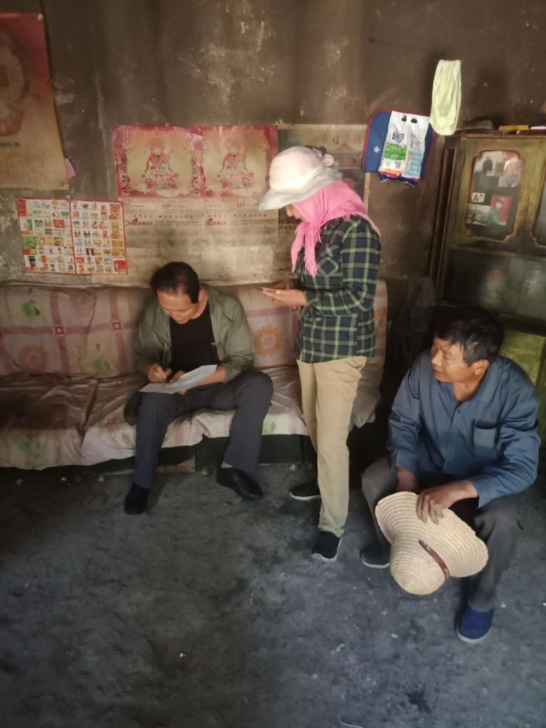 甘州区残联走访慰问贫困户积极开展扶贫工作