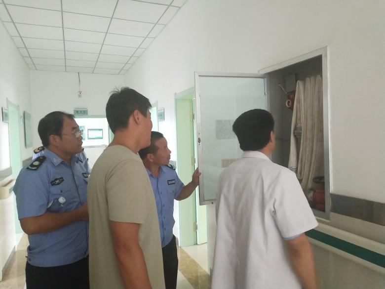 沙井镇安监站开展暑期校园安全联合执法检查工作