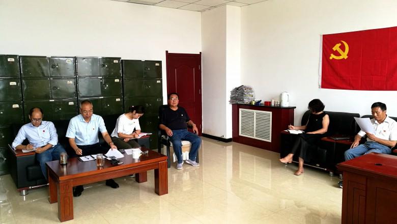 甘州区地震区划党支部开展警示教育活动