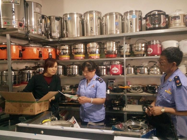 甘州区工商质监局甘州市场工商质监所开展燃气器具专项整治工作