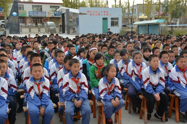 甘州区安阳乡开展集中法治宣传教育活动