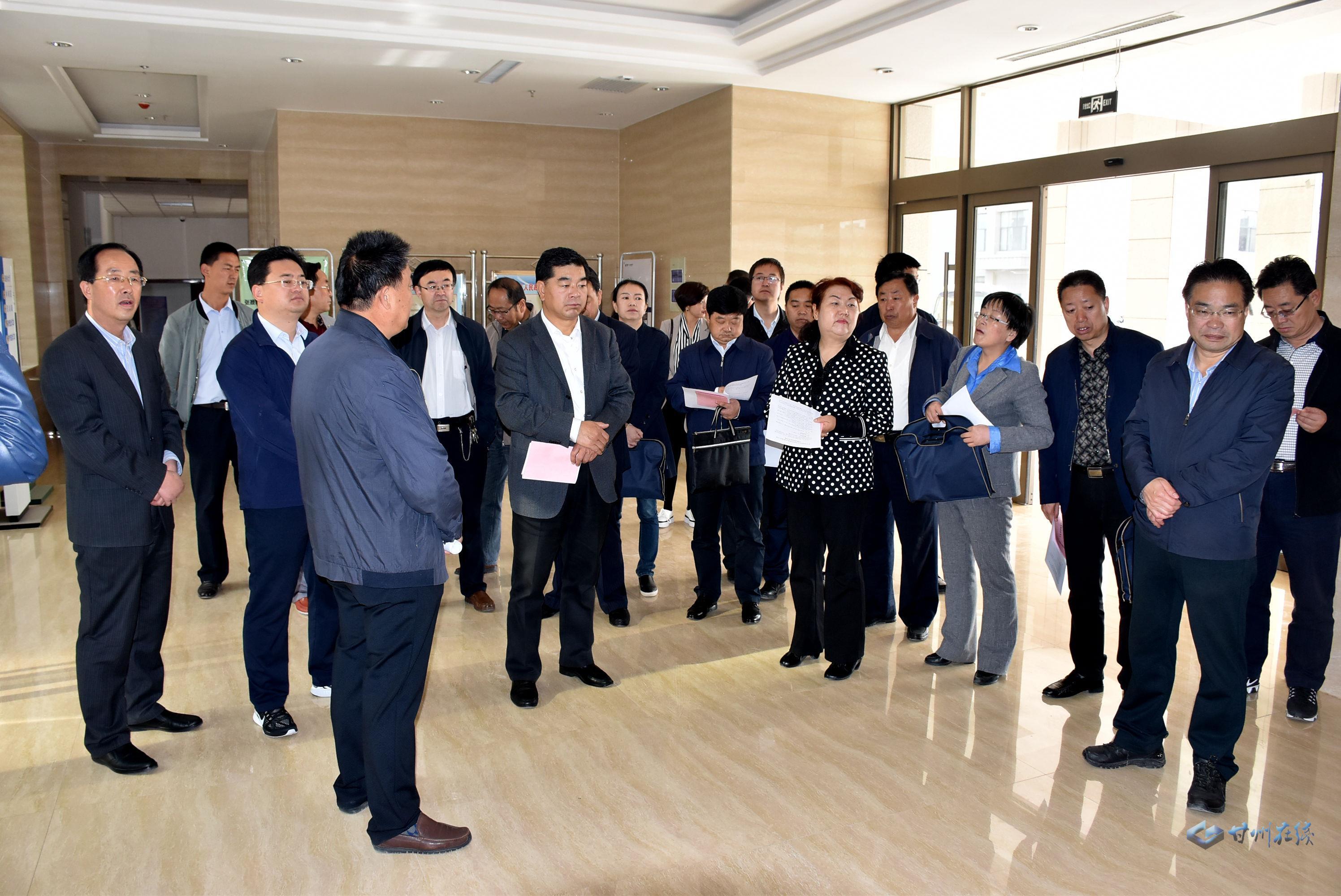 市政协副主席王光寅来我区调研医疗机构分级诊疗工作