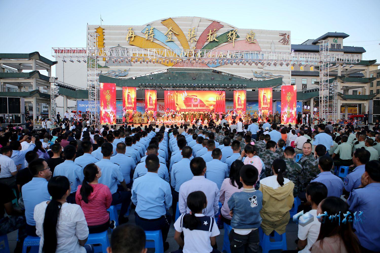 张掖市举行庆祝建军90周年双拥文艺晚会