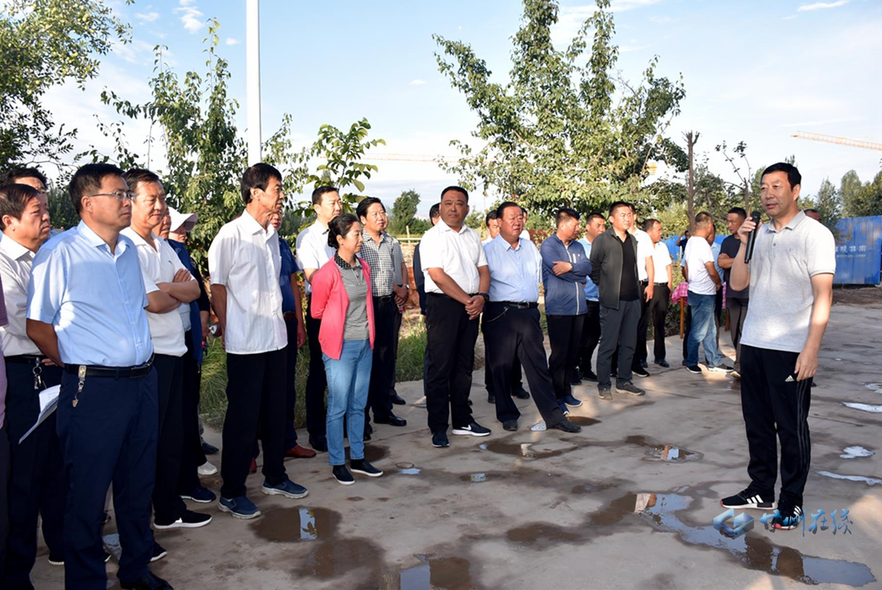 甘州区组织考察团赴临泽县考察学习