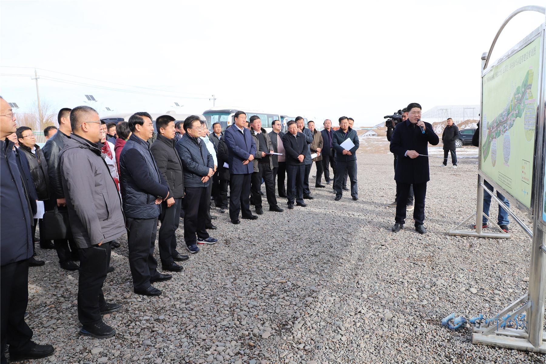 甘州区组团赴民乐县考察学习乡村振兴、城市建设、棚户区改造等工作