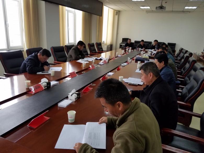王斌主持召开甘州区城市黑臭水体整治 项目建设推进会