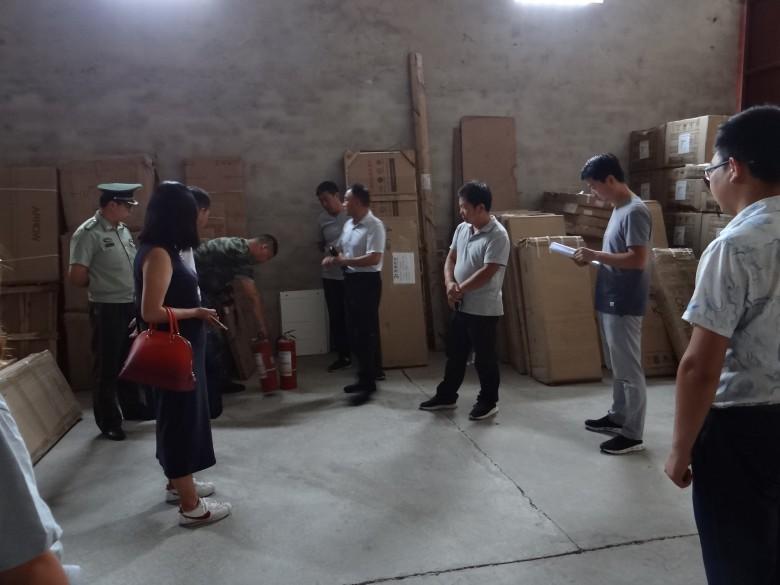 甘州区开展仓储物流场所集中整治专项检查