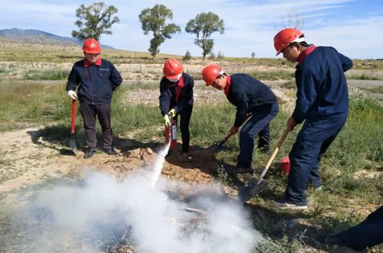 安阳水里管理所开展消防应急演练