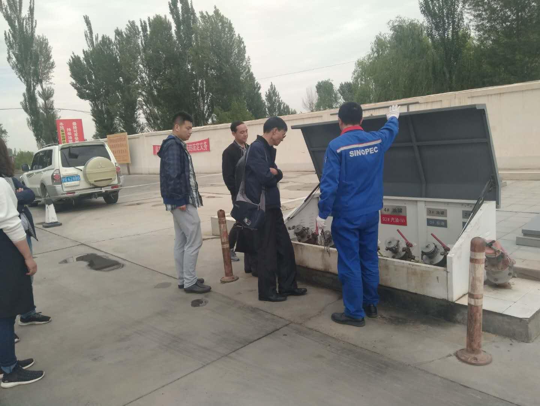 市商务局对甘州区成品油市场进行安全检查
