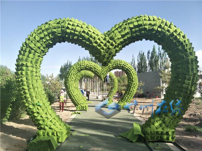 甘州区园林绿化局努力打造创意园林
